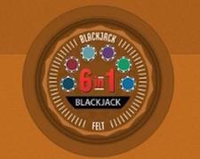 Blackjack 6 in 1 nyacasino
