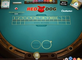 Red Dog bordsspel