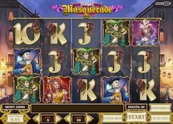 Royal Masquerade slot