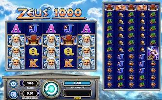 Zeus 1000 videoslot