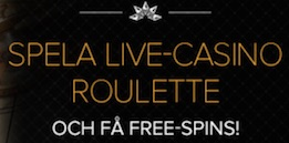 Liveroulette free spins