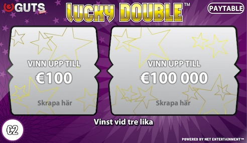 Skraplotter Lucky Double