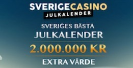 Sverige casino jul