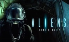 Aliens slot logo