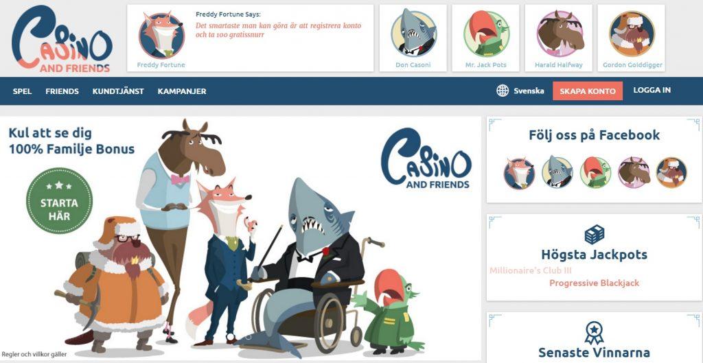 casino and friends nätcasino