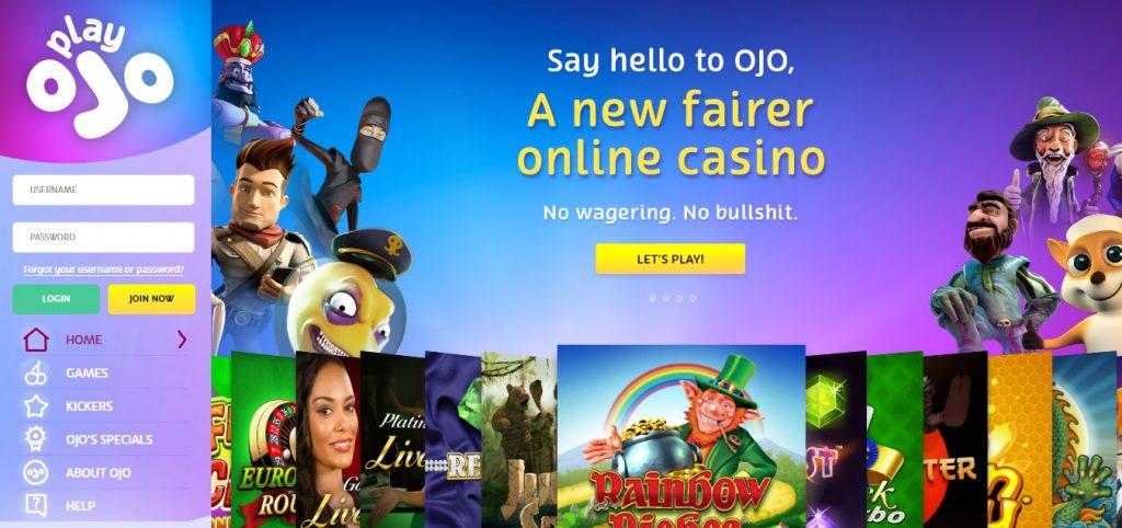 Spela casino med Zimpler | PlayOJO
