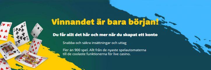 Casinoroom erbjuder bonusar och spel i mängder
