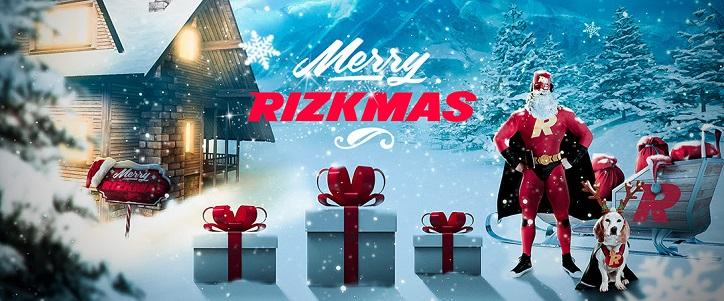 Rizk har redan dragit igång deras julkampanj